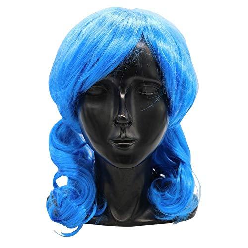 AIMERKUP Halloween Masken Erwachsene Scary Masken Perücke Horror Cosplay Spiel Dark Carnival Latex Kostüm Party Maske Horrible Zubehör Für Frauen Männer