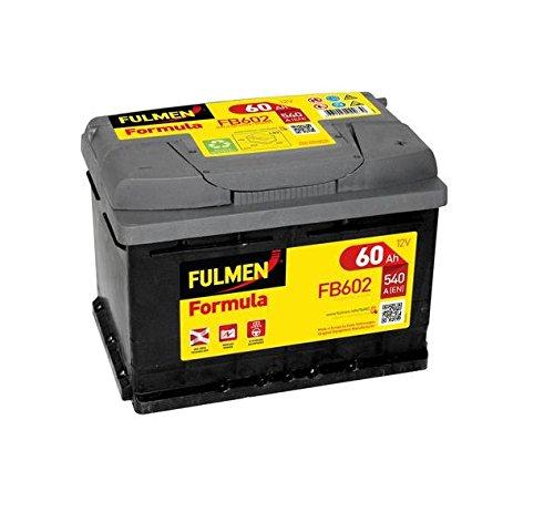 Fulmen - Batterie voiture FB602 12V 60Ah 540A - Batterie(s) - 560409054 ; D