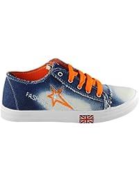 Sapatos Blue & Orange Casual Shoes