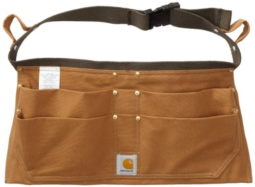 Carhartt Duck Nail Tool Belt, Braun, Small / Medium (Cotton 100% Material Duck)