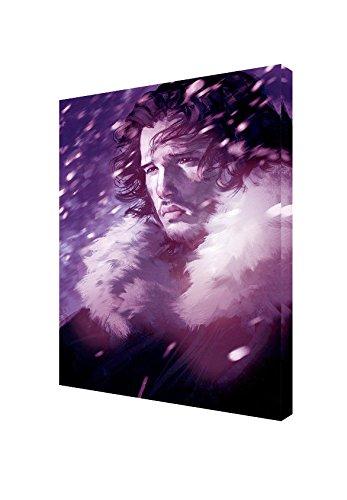 Jon Schnee-Foto Bild Druck auf Holz, gerahmt Leinwand Kunstdruck-Dekoration zum Aufhängen, 30 x 24 inch-18mm depth -