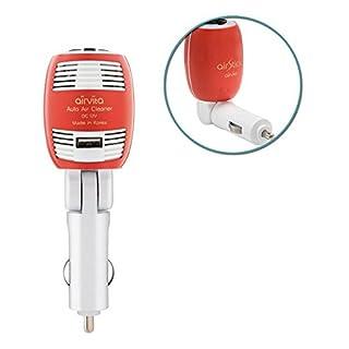 AirVita Luft sauberer Luft Stick rot / Auto / nicht inbegriffen Filter / Anti-Allergie / Auto stecken Sie sauberer Luft / Luft-Stick
