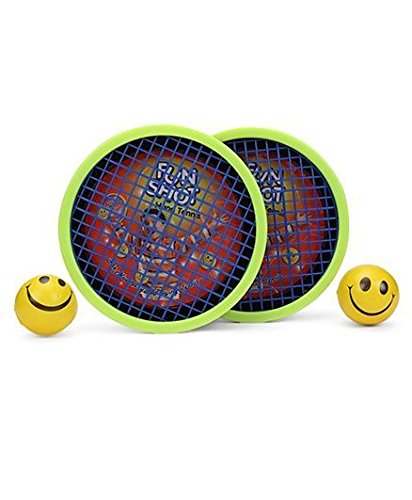 Ratna's fun shot hand tennis sporty game for kids play tennis without racquet and with hand.AWARD WINNER SPORTS TOY (YELLOW)