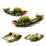 UniqStore Sandalen Tricky Fisch Hausschuhe Kreative Fisch Stil Strand Schuhe Simulation Fisch Strand Hausschuhe Herren