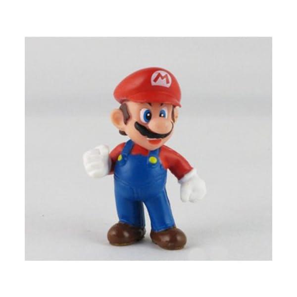 """18Pcs Set 1-3"""" Super Mario Bros Figure Toy Doll Pvc Figure Collectors By Sanlise 5"""