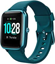 YAMAY Smartwatch Orologio Fitness Donna Uomo Smart Watch Android iOS Contapassi Cardiofrequenzimetro da polso