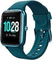 YAMAY Smartwatch Orologio Fitness Uomo Donna Smart Watch Fitness Tracker Cardiofrequenzimetro da Polso Contapassi...
