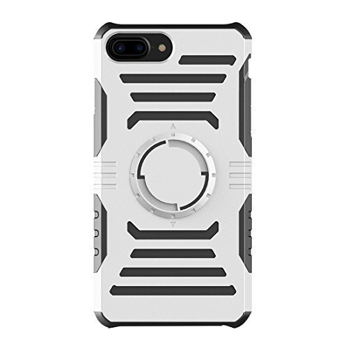 GHC Cases & Covers, Multifunktions-Outdoor-Sport-Armband mit abnehmbarem PC + TPU Kombi-Etui für iPhone 7 Plus ( Color : Gold ) Silver