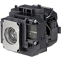 L¨mpara de remplazo Supermait EP58 con Carcasa para Epson Elplp58, Ajuste para EB-S10 / EB-S9 / EB-S92 / EB-W10 / EB-W9 / EB-X10 / EB-X9 / EB-X92 / EX3200 / EX5200 / EX7200 / PowerLite 1220