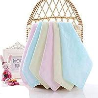 B.H Women`s Cotton Face Towel Set (Multicolour, 28x28 cm) - Pack of 6