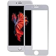 "3D Protection d'Écran Film Vitre iPhone6Plus et iPhone6sPlus - Economisez plus de 60% Prime Day, MORECOO 9H Protecteur Full Coverage 99% Verre Trempé Screen Protector Haute Transparence Dureté Anti-rayures Sans Bulles Ultra-mince [5.5""Argent]"