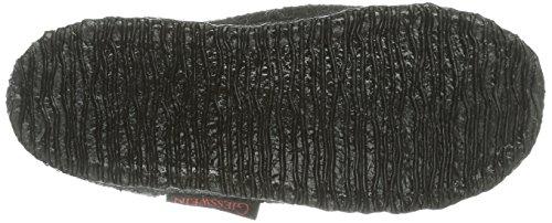 Giesswein Kössen, Chaussons mixte enfant Noir (022 Schwarz)