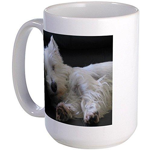 CafePress–Westie Tasse groß–Kaffee Tasse, groß 15Oz Weiß Kaffee Tasse