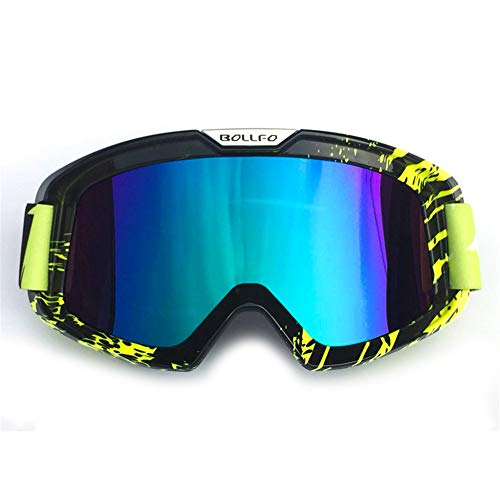 I will take action now Outdoor-Wind von Langlaufbrillen Cross-Country-Motorrad-Brille, um Sich vor dem Brennen von Sand Downhill Ski Brille Reitbrillen zu schützen
