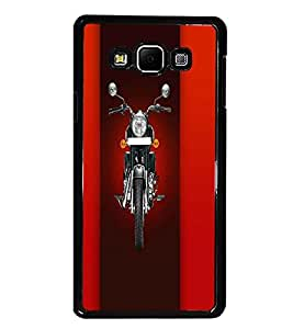 PrintDhaba Bike D-4458 Back Case Cover for SAMSUNG GALAXY E7 (Multi-Coloured)