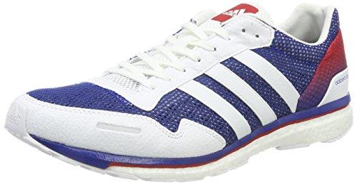Adidas Adizero Adios AKTIV, Baskets adultes unisexes, différentes couleurs (Reauni / Ftwbla / Escarl), 41 1 / 3 EU