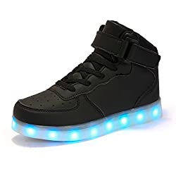 FLARUT Ni os Zapatillas Led...