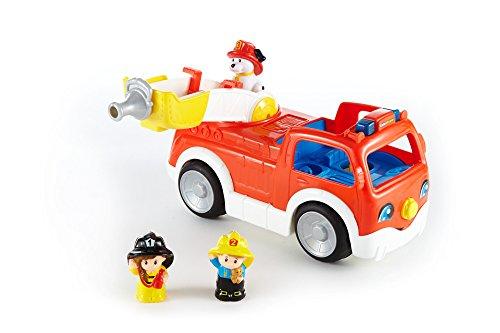 Fisher-Price- Jeux de Construction-Le Camion de Pompiers, DNR28, Pas de Variation