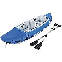 Bestway 65077 - Kayak Hinchable Hydro-Force Lite-Rapid X2 (321 x 88 cm) con 2 remos de 2 palas. Carga máxima de 160 kg