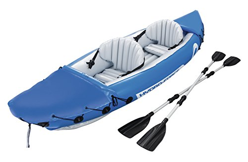 Bestway 65077 - Kayak Hinchable Hydro-Force Lite-Rapid X2 (321 x 88 cm) con 2 remos de 2 Palas. Carga Máxima...