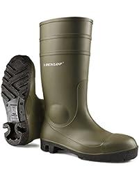 Dunlop 142Pp Protom. S5 zwart 38, Stivali di Gomma Sfoderati, Unisex