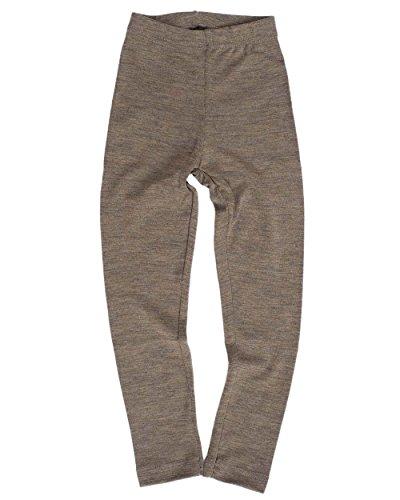 Engel, Legging, lange Unterhose, Wolle Seide, Grösse 92 - 176, 5 Farben (104, Walnuss) (Merinowolle Lange Unterwäsche)