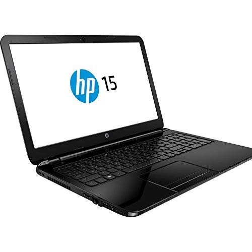 HP 15 39,6cm (15,6 Zoll mattes FULL HD Display) Notebook (AMD A6 Quad Core 4x 2,0 GHz, 8GB RAM, 500GB S-ATA3 HDD, AMD Radeon HD Grafik, HDMI, HD Webcam, USB 3.0, WLAN, Bluetooth, DVD-Brenner, Windows 10 Professional 64 Bit) #1303