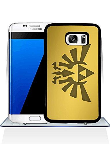 Fall-Abdeckung für Samsung Galaxy S7 Edge Legend Of Zelda Trifürce Unique Design, Legend Of Zelda Trifürce Games Samsung S7 Edge Hülle Schutzhülle Tasche Kratzfeste PC Back Protector Gift für Jungen