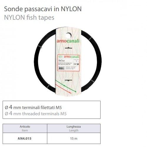 Sonda Nylon d4 lunghezza 15m