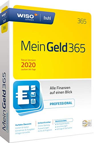 WISO Mein Geld Professional 365 (aktuelle Version 2020) (WISO Software) Disc in Standardverpackung