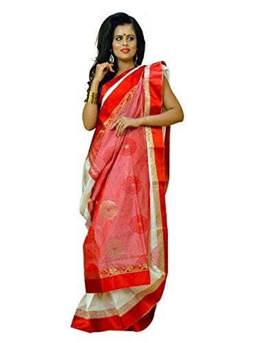 VINTAGE Girls cotton saree(VINTAGE O18_multi colour_Freesize)