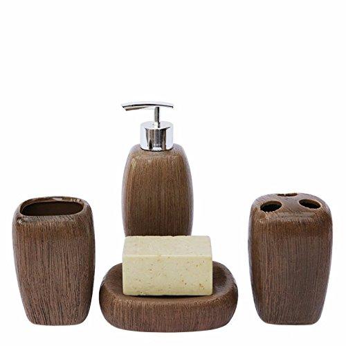 PEIWENIN-Set baño Set baño cerámica Retro China