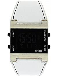 Spirit ASPG09 – Wrist Watch, Plastic White Strap