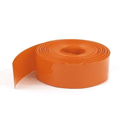 sourcingmapr-5m-5m-pvc-termoretribile-copertura-tubo-cavo-23mm-piatte-per-1xaa-batteria