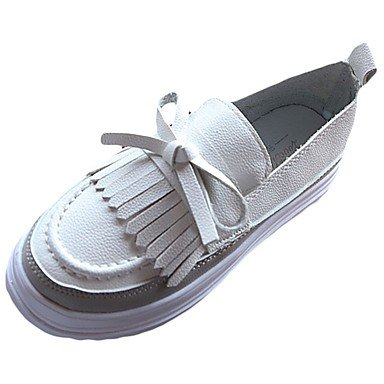 E Caduti; Slip on Scarpe White Rond Plat ons Shoeshaoge De Loafers Robe Donne Sono ; Pour Femmes Pu Il Shoeshaoge Bout Slip Tomber Confort Talon Bowknot Clean Rotondo Comfort Bianco Abito Mocassini Bowknot Chaussures Blanche Del Tallone qxpC6wWvfa
