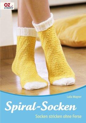 Spiral-Socken: Socken stricken ohne Ferse (Spiral-ferse)