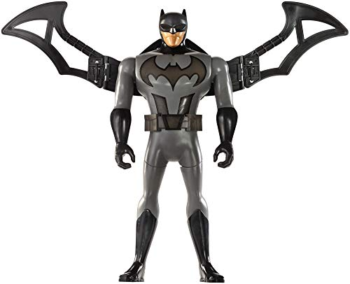 Mattel FFM04 - DC Justice League Deluxe Battle-Flügel Batman, 30 cm mit Lights & - Kind Leuchten Batman Kostüm