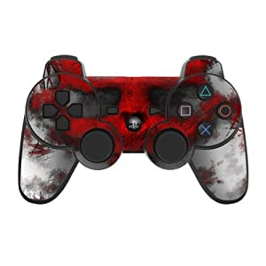 Skins4u Playstation 3 Controller Skin – Design Sticker Set für PS3 Gamepad – War Light