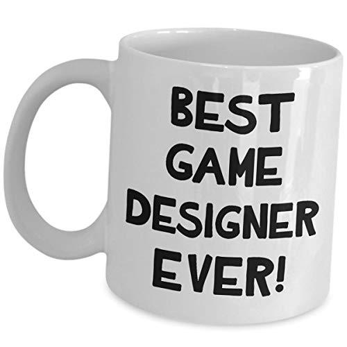 Gifts for Video Game Designer - Best Coffee Mug Ever - Tea Cup Funny Cute Gag Reward Gift Idea Developer Design Motivational Gaming Dev Team Development Award Recognition Men Women Gamer Appreciation - Video Karte Hitze