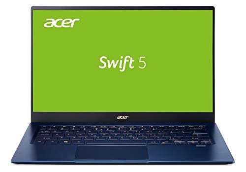 "Acer Swift 5 SF514-54T-501U Azul Portátil 35,6 cm (14"") 1920 x 1080 Pixeles Pantalla táctil 10th Gen Intel® Core i5 i5-1035G1 8 GB LPDDR4-SDRAM 512 GB SSD Windows 10 Home Swift 5 SF514-"