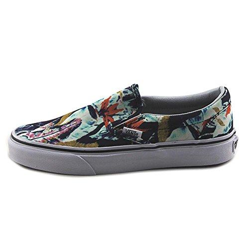 Vans Classic Slip-On Tropical Sneaker Damen schwarz / bunt