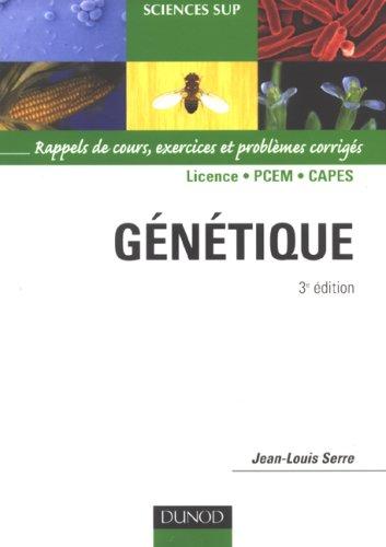 Génétique : Rappels de cours, exercices et problèmes corrigés