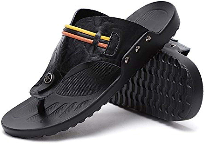 Zapatillas De Verano para Hombres Sandalias De Dedo con Clip Antideslizantes Y Transpirables