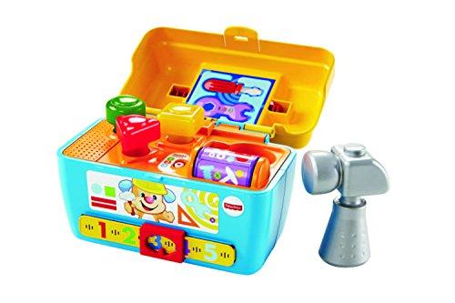 Mattel CGV14 Fisher-Price - Lernspaß Werkzeugkasten