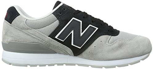 New Balance Mrl996v2, Baskets Basses Homme Gris (Grey/Black)