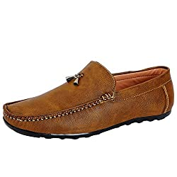 Fausto KF-921-40 Tan Mens Loafers