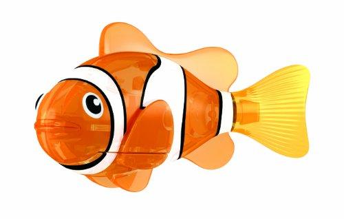Goliath 32550 Robo-Fisch Red Siren | Buntes LED-Licht | Lebensechte Bewegungen | Wasserspaß für Kinder | elektronisches Wasser-Spielzeug