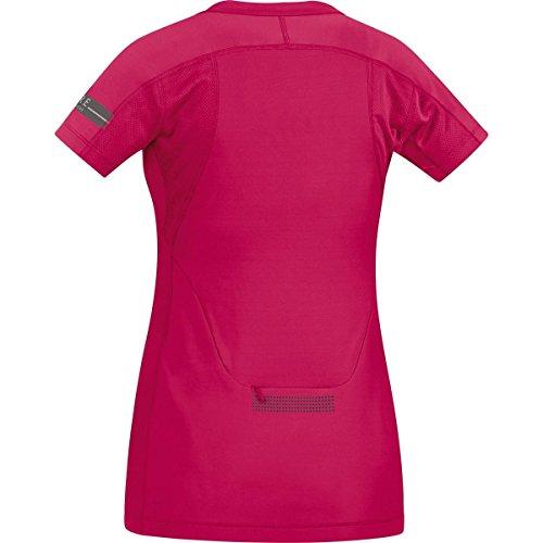 Gore Running Wear Sairld T-Shirt Femme Rosa