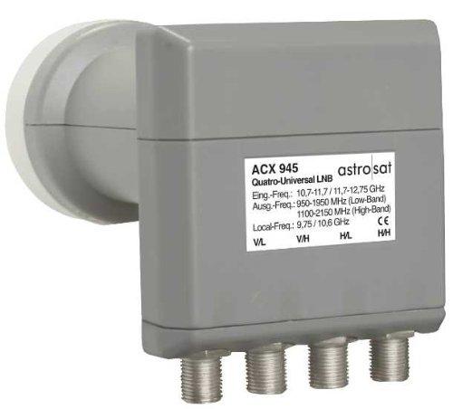Astro ACX 945 Grigio convertitori abbassatore di frequenza Low Noise Block (LNB)