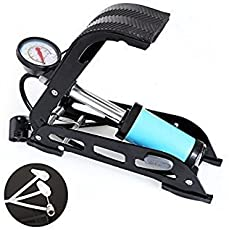 Krupalu Buster JT540D Single Cylinder Inflator Pump for Cars Motorcycle Bicycle Ball Boat Swim-Ring Cycling Foot Pump - 1pc